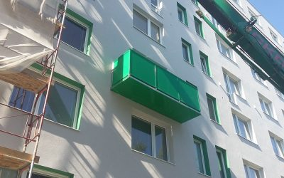 MS KOVO plus - balkony - Bazovskeho - Topolcany (2)