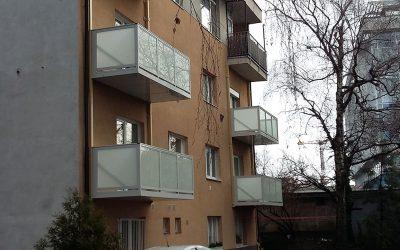 MS KOVO plus - balkony - Bratislava (2)